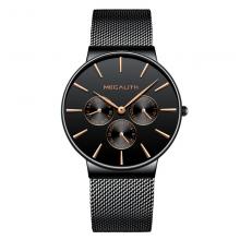 Waterproof Steel Chronograph Men's Watches