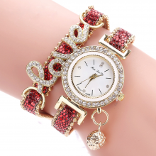 Multilayer Rhinestone Decorated Women's Watches