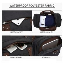 Soft Waterproof Men Travel Bags