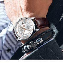 Waterproof Stick Dial Men's Watches