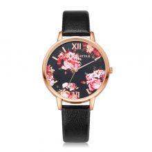 Elegant Flower Patterned Women's Watches