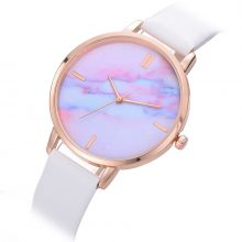Rainbow Marble Patterned Women's Watches