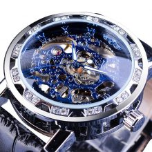 Vintage Skeleton Design Mechanical Men's Watches