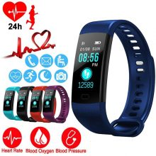 Heart Rate Blood Pressure Monitoring Smart Watches