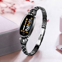 Elegant Waterproof Steel Women's Smart Watches